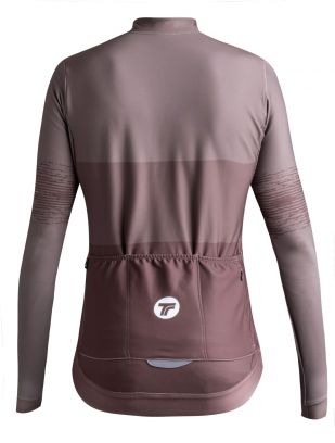 LONG SLEEVE JERSEY HARD DAY WOMAN - BROWN